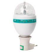 Светодиодная ротационная лампа Led Full Color Rotating Lamp