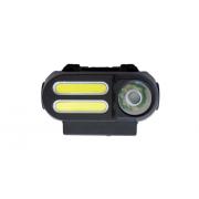 Светодиодный велосипедный фонарь (Черный)