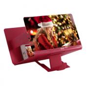 Увеличитель экрана телефона 3D Премиум (Красный)