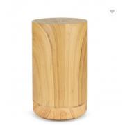 Ультразвуковой увлажнитель воздуха из древесины бамбука с диффузором эфирного масла (Светлое дерево)