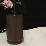 Ультразвуковой увлажнитель воздуха из древесины бамбука с диффузором эфирного масла (Темное дерево)
