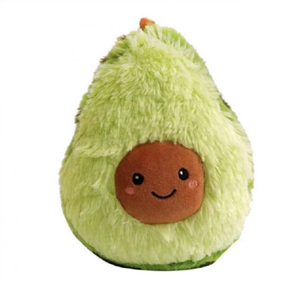 Плюшевая игрушка подушка Авокадо 30 см