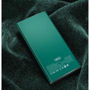 Портативное зарядное устройство Power Bank XO PR101 10000mah (Зеленое)
