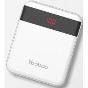 Портативное зарядное устройство Yoobao M4 Pro 10000 mAh (Белый)