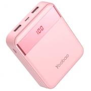 Портативное зарядное устройство Yoobao M4 Pro 10000 mAh (Розовый)