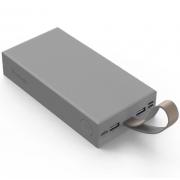 Портативное зарядное устройство Yoobao P20E 20000 мАч с фонариком (Серое)
