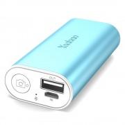 Внешний аккумулятор Yoobao S2 5200 mAh с Bluetooth кнопокой для селфи (Голубой)