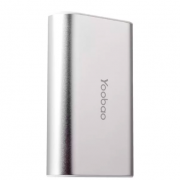 Внешний аккумулятор Yoobao S2 5200 mAh с Bluetooth кнопокой для селфи (Серебряный)