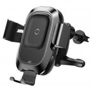 Беспроводное автомобильное зарядное устройство Baseus Light Electric Holder Wireless Charger 15W QI