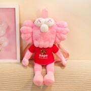 Мягкая игрушка в стиле Kaws Bff 35 см (Розовая)