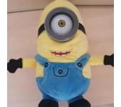 Мягкая игрушка Миньон №2 из мультфильма Гадкий я с звуком и светом