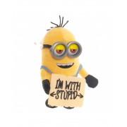 Мягкая игрушка Миньон №3 из мультфильма Гадкий я с звуком и светом