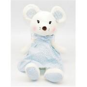 Мягкая игрушка Мышка 40 см (Голубая)