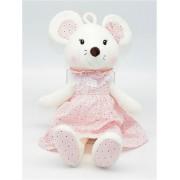 Мягкая игрушка Мышка 40 см (Розовая)