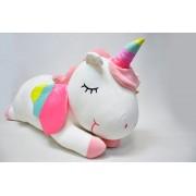 Мягкая игрушка Единорог 80 см (Белый)