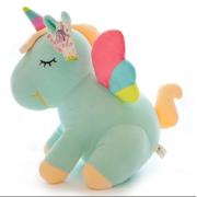 Мягкая игрушка Единорог 50 см (Голубая)