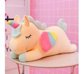 Мягкая игрушка Единорог 60 см (Желтая)