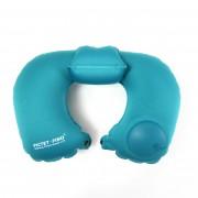 Надувная подушка Pictet Fino RH76 U-образная (Голубой)