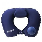 Надувная подушка Pictet Fino RH76 U-образная (Синий)