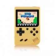 Игровая консоль Gamepad Retro игры 400 в 1, 8 Бит 2 игрока джойстик (Желтая)
