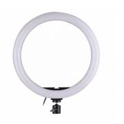 Кольцевое освещение для профессиональной съемки ZD666 26 см (Черная)