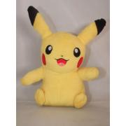 Мягкая игрушка покемона Пикачу с улыбкой 35 см (Желтая)