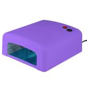 Ультрафиолетовая лампа для сушки ногтей Zh-818 (Фиолетовая)