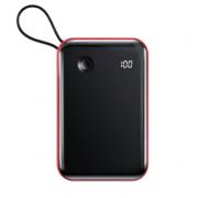 Аккумулятор Baseus Mini S Digital Display 3A Power Bank 10000mAh With Type-C Cable PPXF-A09 (Красный)
