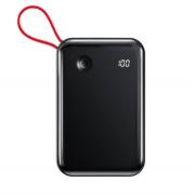 Аккумулятор Baseus Mini S Digital Display 3A Power Bank 10000mAh With IP Cable PPXF-B01 (Черный)