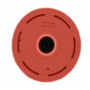 Беспроводная панорамная IP камера Wi-Fi panoramic camera V380S 2 мегапикселя (Красный)