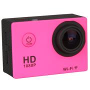 Камера H9 Sport DV водостойкая (Розовая)