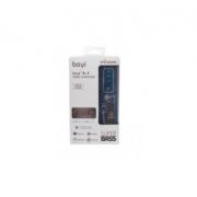 Наушники Bluetooth 3 in 1 Boyi-12 (Черные)