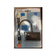 2-портовый USB-концентратор и reader 3in1 USB HUB+SD+TF (Черный)