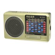 Радиоприемник Meier M-131U USB TF FM AUX (Золотой)