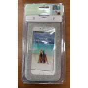 Универсальный водонепроницаемый чехол для телефона iPhone 8 plus (Серебряный)