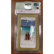 Универсальный водонепроницаемый чехол для телефона iPhone 8 plus (Золотой)