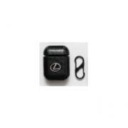 Чехол для Airpods с LOGO Lexus (Черный)