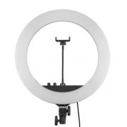 Профессиональная светодиодная кольцевая лампа YQ-360A 36 см (Белая)