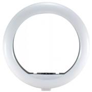 Кольцевая лампа 20 см без штатива (Белый)