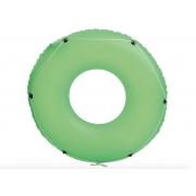 Bestway Надувной круг для плавания со шнуром 119 см (Зеленый)