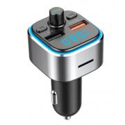 Автомобильный Bluetooth 5.0 MP3-плеер T32 (Серебряный)