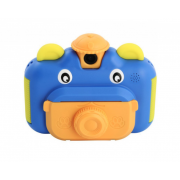 Детская фотокамера Leilam с мгновенной печатью снимков (Синяя)