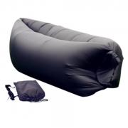 Надувной диван-лежак (Черный)