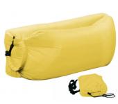 Надувной диван-лежак (Желтый)