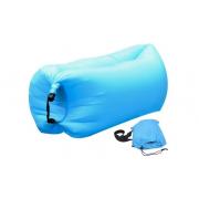 Надувной диван-лежак (Голубой)