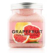 Скраб для тела и лица Pretty Cowry GRAPEFRUIT с экстрактом Грейпфрута 350мл
