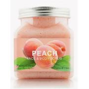 Скраб для тела и лица Pretty Cowry Peach 350мл