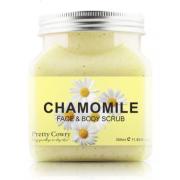 Скраб для тела и лица Pretty Cowry CHAMOMILE с экстрактом Ромашки 350мл