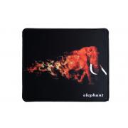 Коврик для мыши H8 Пылающий Слон 25*29см (Черный)