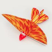 Летающая птичка с пультом дистанционного управления (Оранжевая)